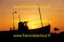 Bleriot chalutier coucher soleil D11 84